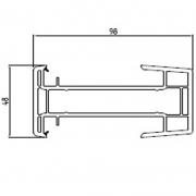 Соединительный профиль Rehau/Brusbox/Monblanc/Richmont 60 мм
